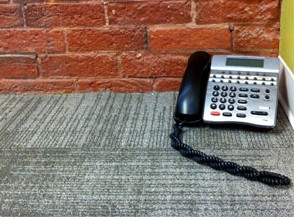 Phone in the first BBD Kingston office