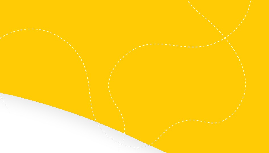 Yellow banner | Work from home | Benefits by Design