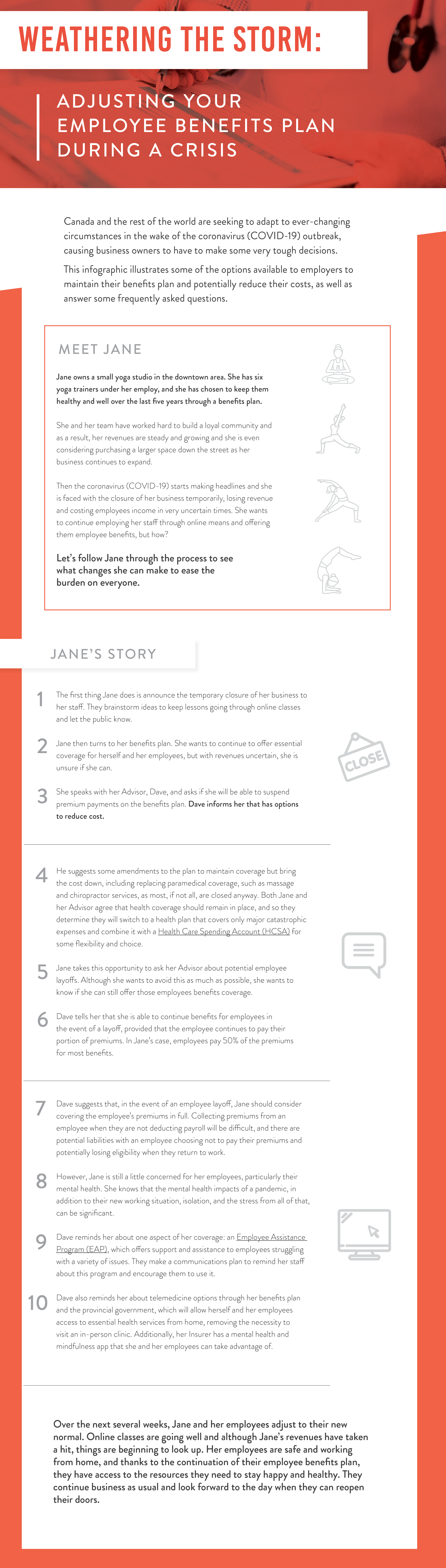 Weathering the Storm: Adjusting Your Employee Benefits Plan During a Crisis [Infographic]