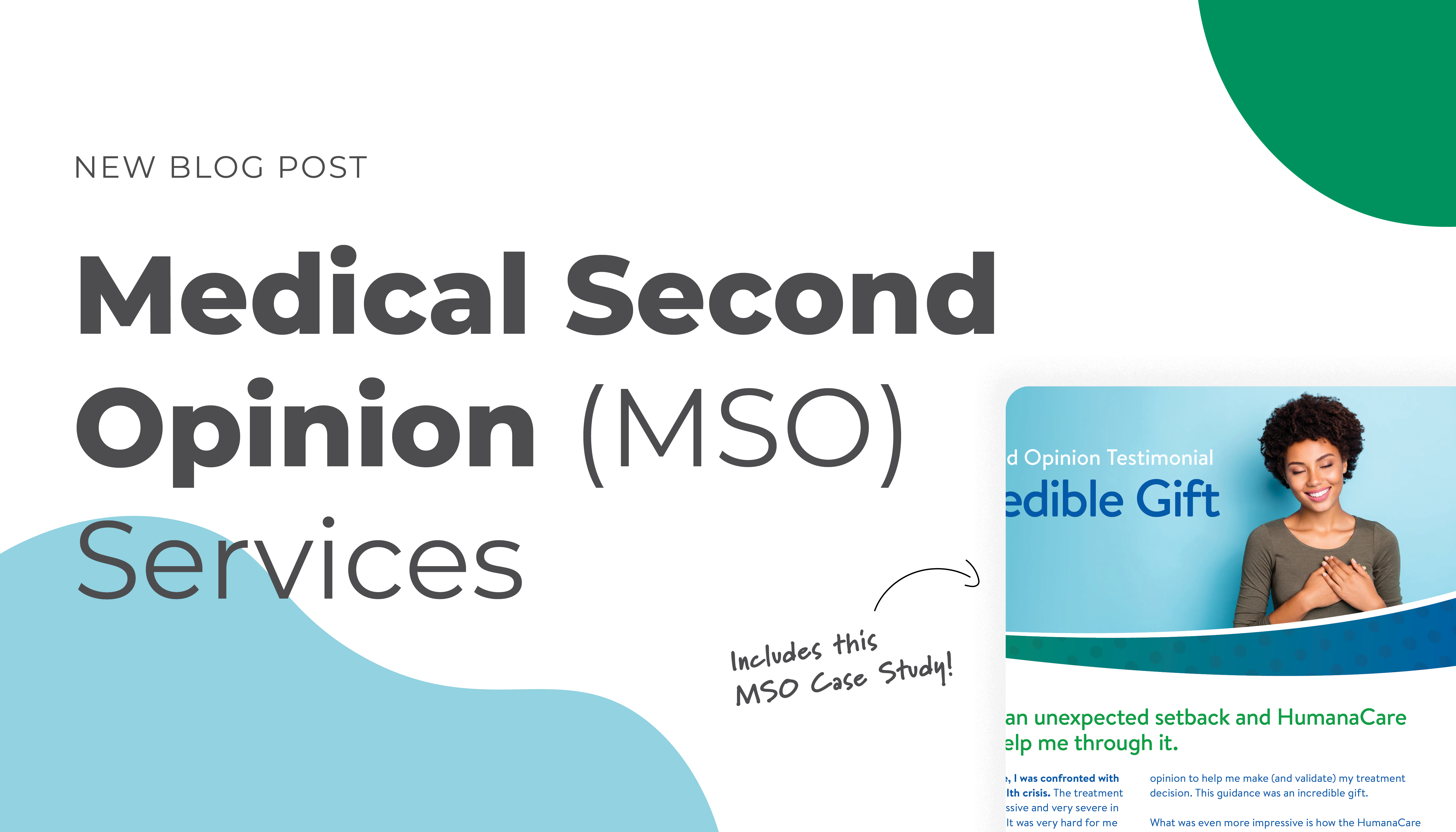 Medical Second Opinion Services (MSO) | Image of HumanaCare Case Study Front Page
