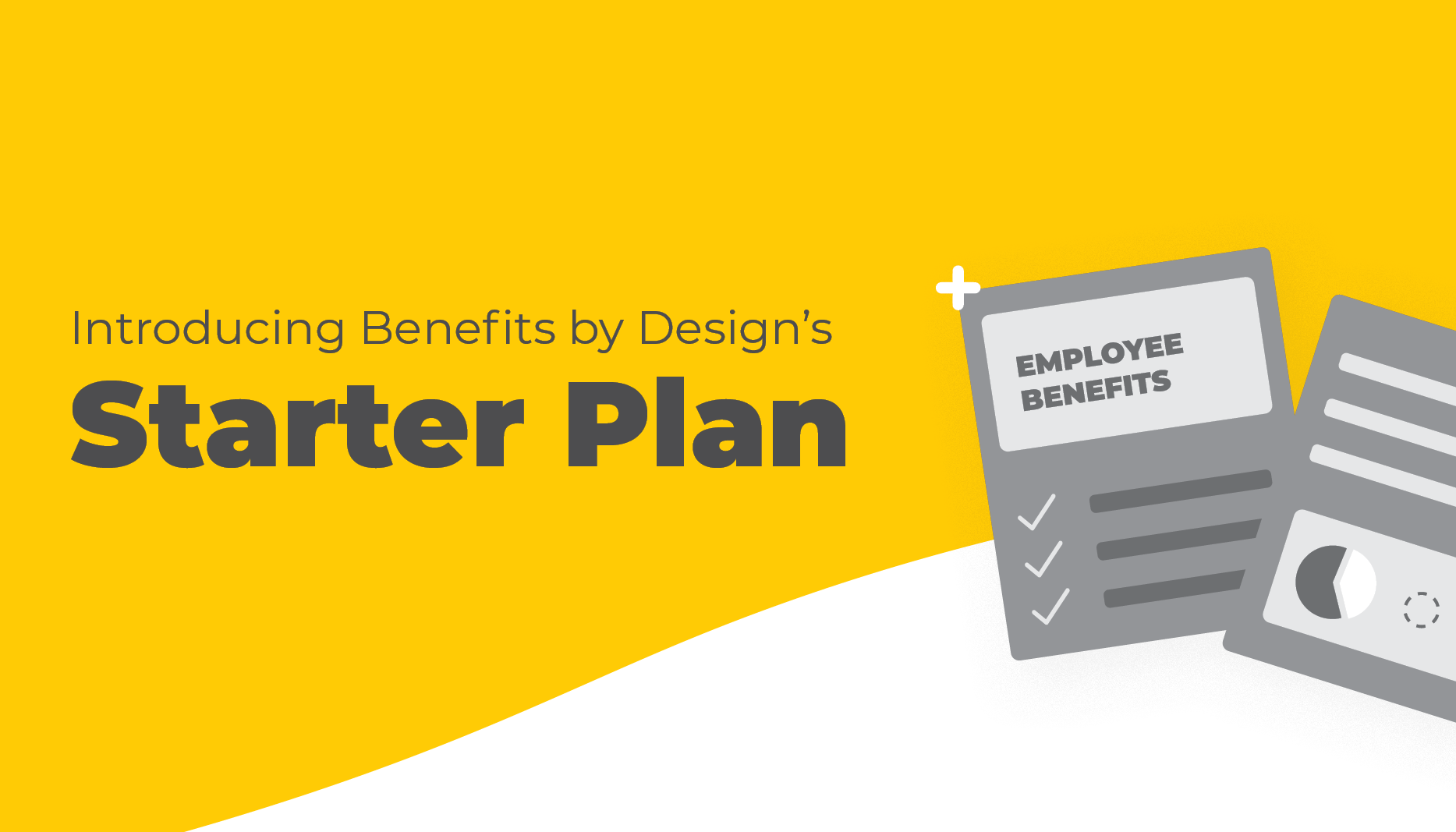 Introducing the BBD Starter Plan | Vector Image of Documents | Benefits by Design